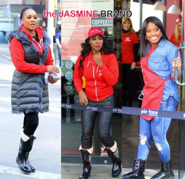 Kenya Moore, Vivica Fox, Keshia Knight-Pulliam & More Caught Filming Celebrity Apprentice