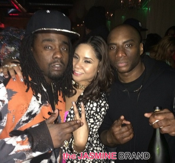 wale-angela yee-charlamagne the god-mc lyte-celebs attend CIAA 2014-the jasmine brand