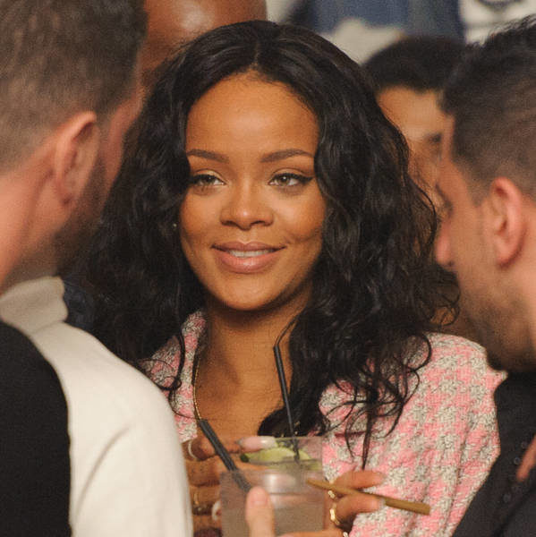 Rihanna & Drake Cup Cake In LA Club + Christina Milian, Future & Busta Rhymes Spotted