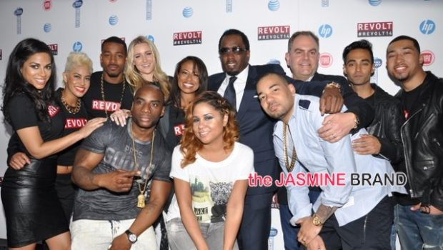 [PHOTOS] Diddy Hosts REVOLT Upfront