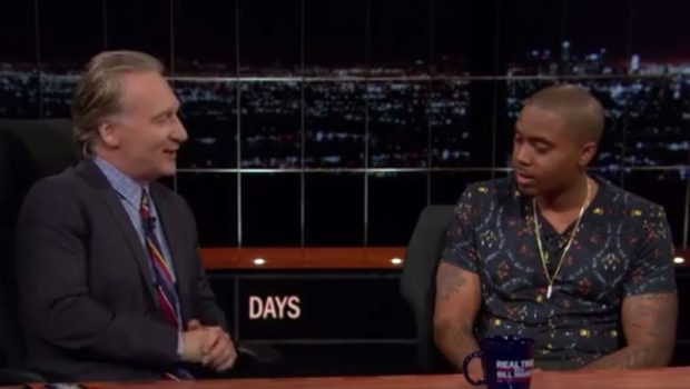 [WATCH] A Reflective Nas Visits Bill Maher, Defends 'Black Republican'