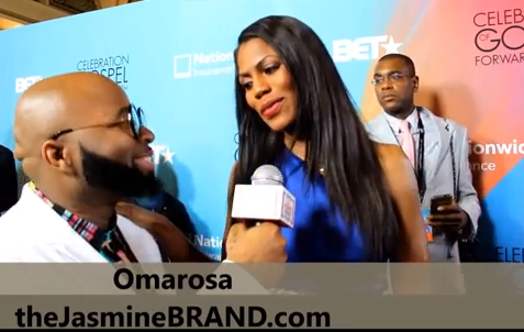 Omarosa at Celebration of Gospel