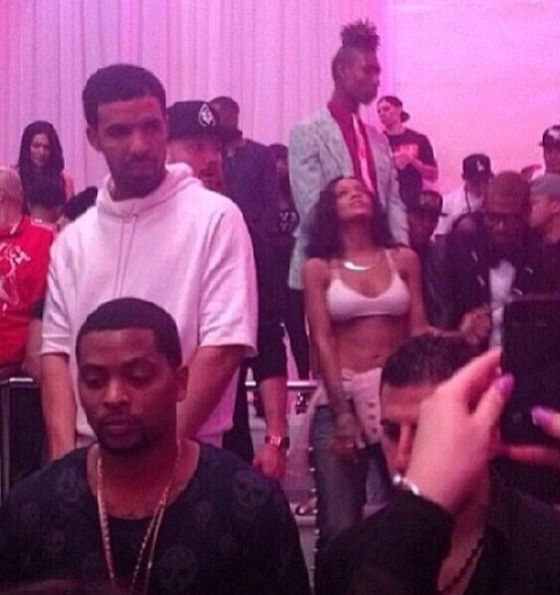 Rihanna Drake Partying In LA -2-The Jasmine Brand