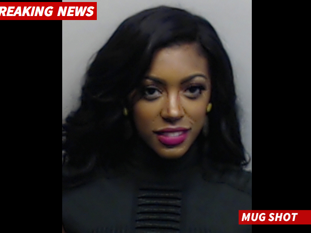 [UPDATE] Porsha Williams' 'Beat Face' Mug Shot Released After Warrant Issued For Brawl With Kenya Moore