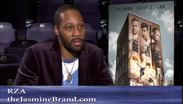 [EXCLUSIVE] RZA Talks 'Brick Mansions', Paul Walker's Spirit & His One Question For God