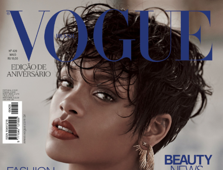 VOGUE Brazil Releases New Smoking Haute Rihanna Covers
