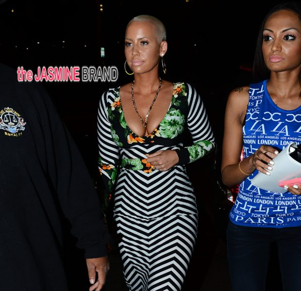 Spotted.Stalked.Scene: Jamie Foxx & Daughter Hit Red Carpet, Amber Rose Parties In Hollywood + Rihanna Shops in LA