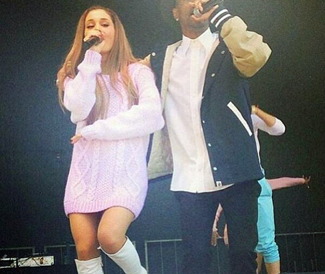 ariana grande-big sean-easter eg roll 2014-the jasmine brand