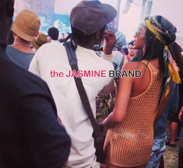asap rocky-chanel iman-celebrities at coachella 2014-the jasmine brand