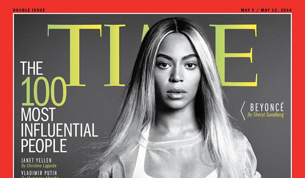 Beyoncé covers TIME Magazine's 'Most Influential People in the World'