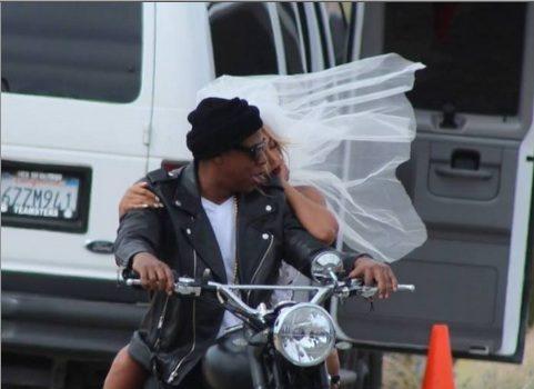Beyoncé & Jay Z Ride Dirty For New Mystery Shoot + Were Kanye & Kim Inspiration?