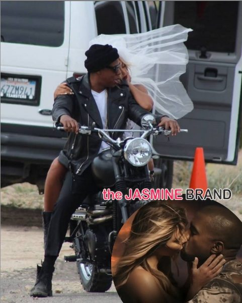 Beyoncé & Jay Z Ride Dirty For New Mystery Shoot + Were Kanye & Kim Inspiration?