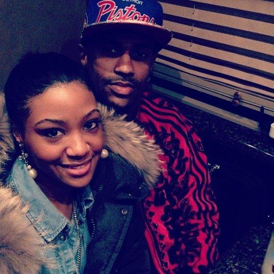 rapper dating glee star