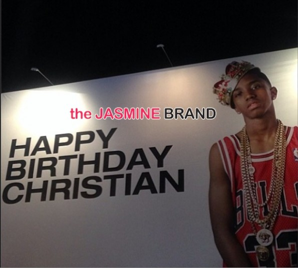 birthday billboard-diddy-throws swervin 16th-birthday party-son christian combs-the jasmine brand