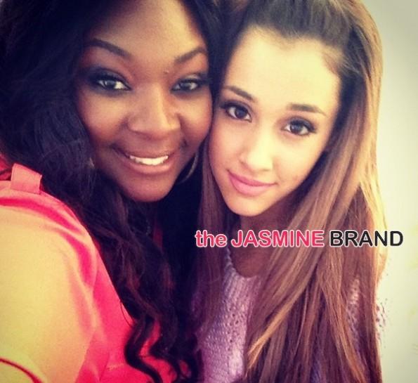 candice glover-ariana grande-white house easter egg roll 2014-the jasmine brand