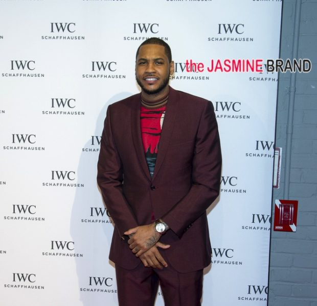 Celebrity Stalking: Carmelo Anthony Hits Tribeca, Adrienne Bosh Takes Paris, Desean Jackson Pops Bottles, Solange Moonlights + LeToya Luckett's Cutesy Spa Day