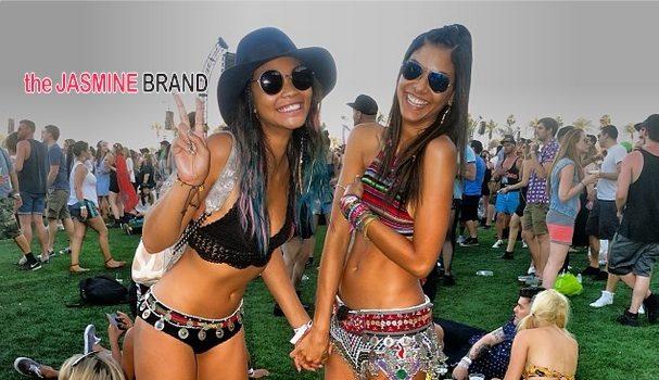 Celebrities Invade Coachella: Chanel Iman, Karrueche, T.I., Eva Marcille, Rita Ora + Watch Pharrell's Full Set