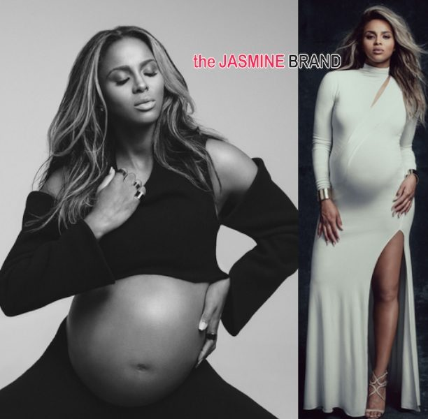Motherhood Never Looked So Good! Ciara's Bare Pregnancy Belly Hits 'W Magazine'