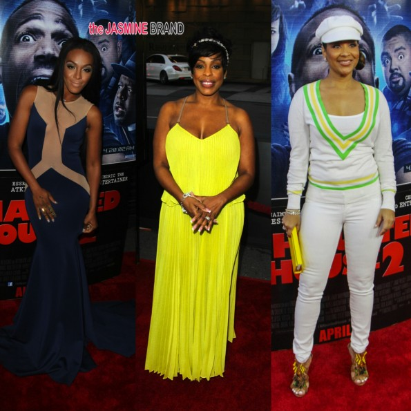 dawn richard-lisaraye mccoy-niecy nash-a haunted house 2 premiere-the jasmine brand