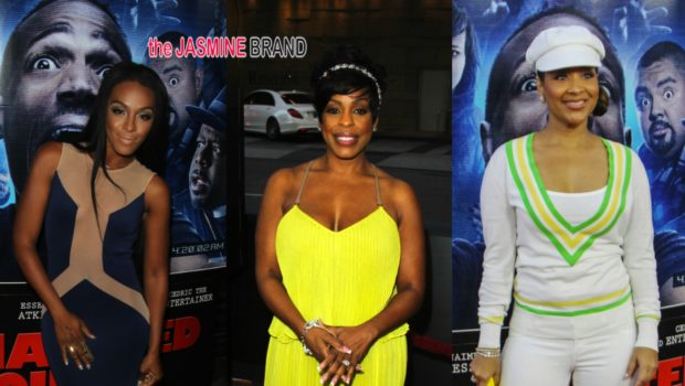 'A Haunted House 2' Premiere: Cedric the Entertainer, Brandy, Floyd Mayweather Jr., Niecy Nash, LisaRaye McCoy, Dawn Richard, Omar Epps & More Attend