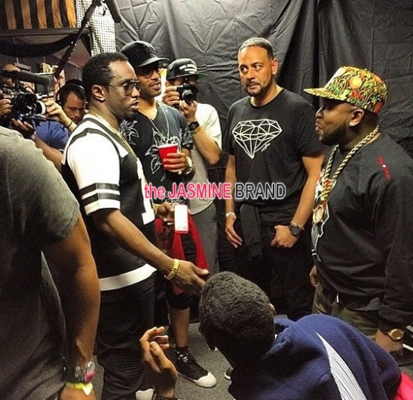 diddy backstage-outkast coachelle 2014-the jasmine brand
