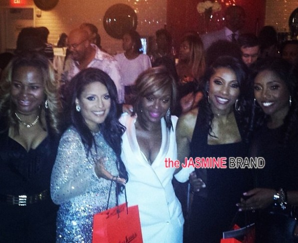 dr heavenly-lisa nicole-quad-jackie-simone-married to medicine-season 2 premiere party-the jasmine brand