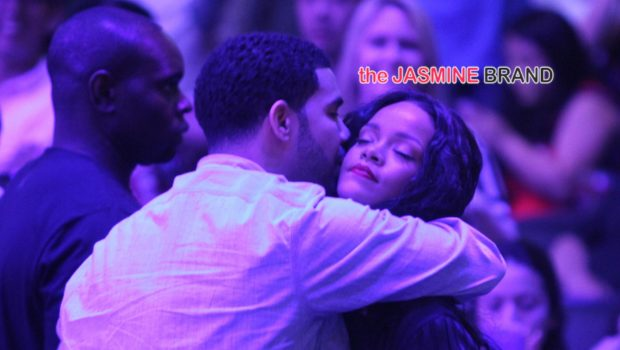 Us Against The World: Rihanna & Drake Serve PDA At Clippers Game