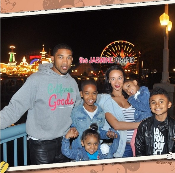draya michele-boyfriend orlando-family disney land-basketball wives la 2014-the jasmine brand
