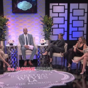 draya michele-skips basketball wives la reunion-addresses sundy carter fight-i-the jasmine brand