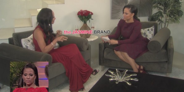 draya michele-skips basketball wives la reunion-addresses sundy carter fight-the jasmine brand