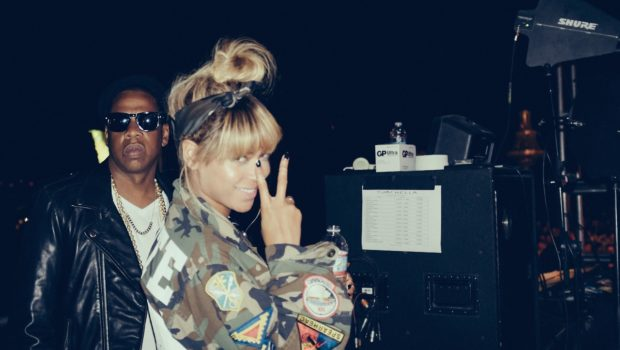 Memorable Moments: Jay Z & Beyoncé Stunt for Coachella Onlookers