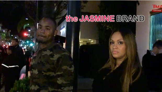 [Meet the Parents] Evelyn Lozada & Fiance Carl Crawford Make 1st Public Appearance, Since Pushing Out Healthy Baby Boy