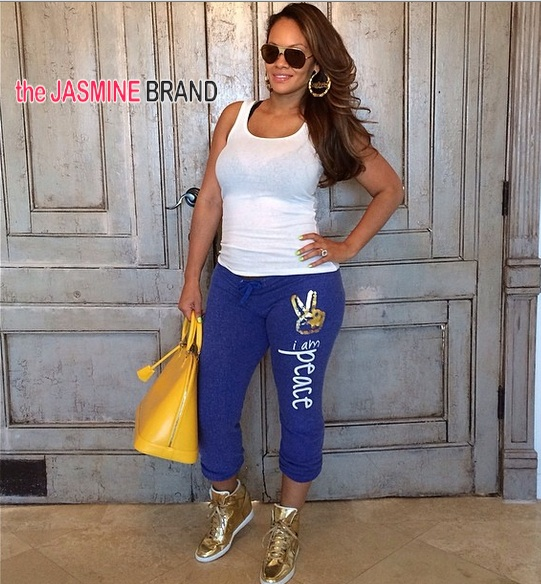 Bounce Back Body! Evelyn Lozada Debuts Her Post Pregnancy Shape