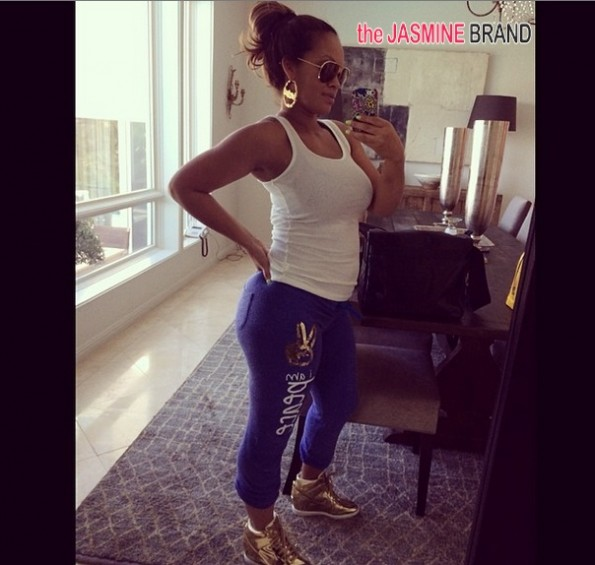 evelyn lozada-shows off post pregnancy body-the jasmine brand