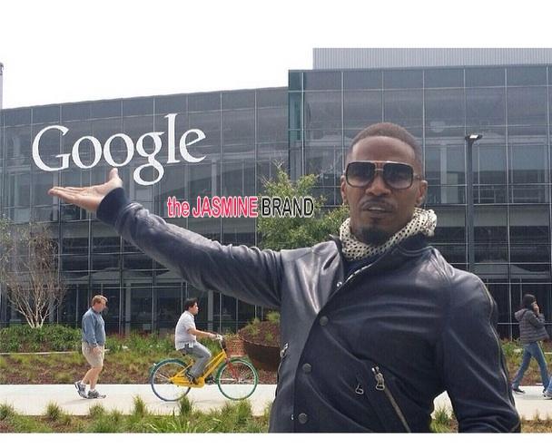 google hangout-spider man-jamie foxx 2014-the jasmine brand