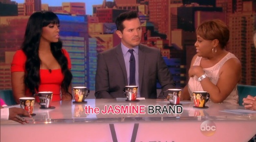 i-porsha williams-the view-talks kenya moore fight-the jasmine brand
