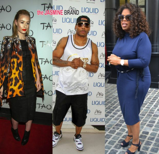 Bobby Brown's A 'Jerk', Oprah Visits DC, Nelly & Iggy Azalea Take Vegas + Celebs Hit Country Music Awards