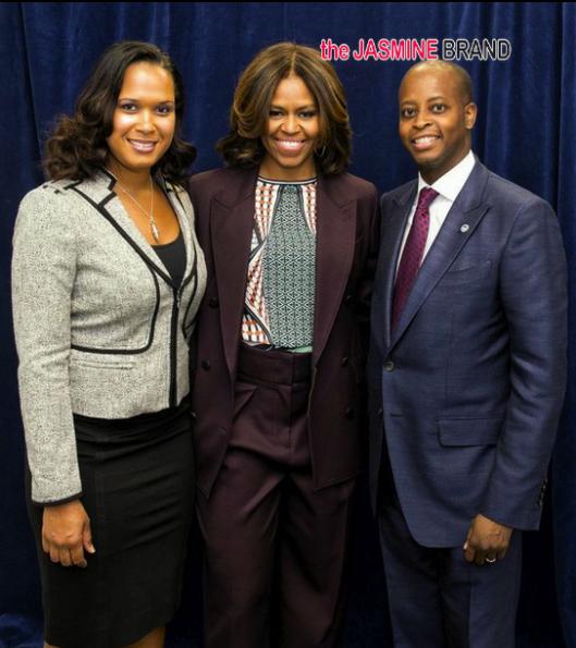 interim president-simone frederick-flotus-first lady michelle obama-bow wow visits howard university-the jasmine brand