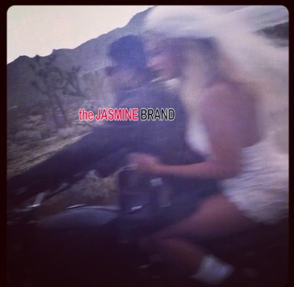jay z-beyonce-shoot motorcycle-wedding veil-the jasmine brand