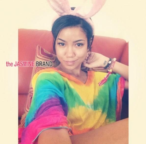 jhene aiko-celebrities-easter 2014-the jasmine brand