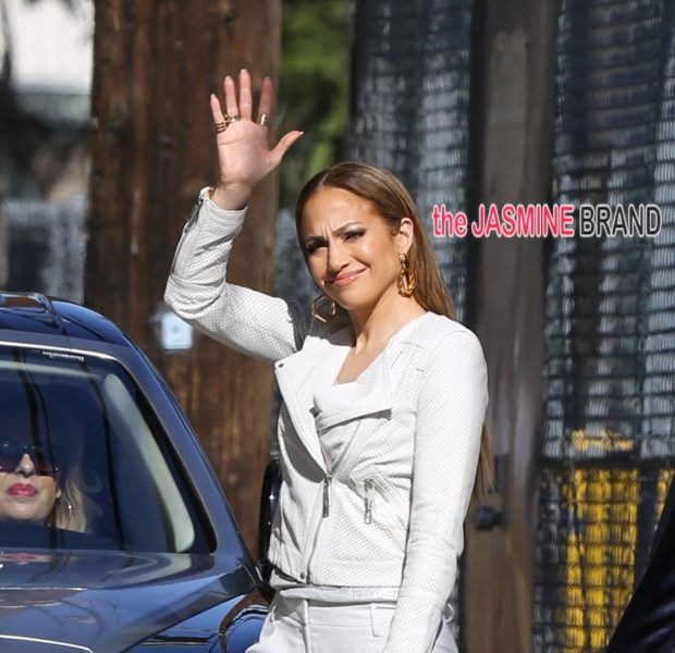 Celebrity Stalking: J.Lo Visits 'Jimmy Kimmel Live', Rihanna Serves NYC Sidewalk Style, Pharrell Hits 'I Am Other' + Keri Hilson Gets Floral
