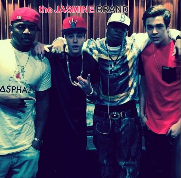 justin bieber-young money cash mony studio 2014-the jasmine brand