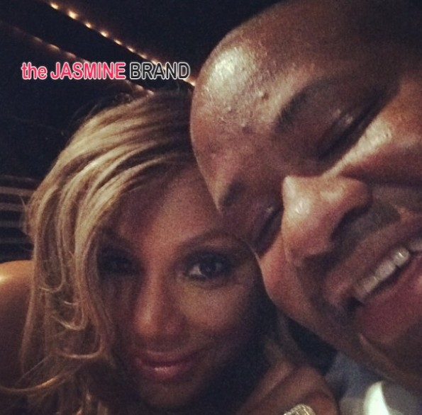 Tamar Braxton Ignores New Domestic Violence Report, Packs On The PDA With Hubby Vincent Herbert [VIDEO]