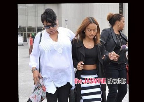 Stand By Your Man! Karrueche Tran Supports Ex-Boyfriend Chris Brown For Court Appearance + Bow Wow, Tank Show Attend