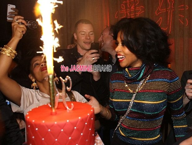 WEPA! Kelis Celebrates 'Food' With NYC After Party