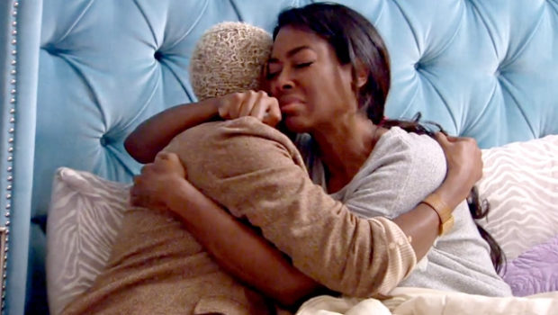 Kenya Moore Publicly Mourns Dog, Velvet: I thought I could do this, but I can't.