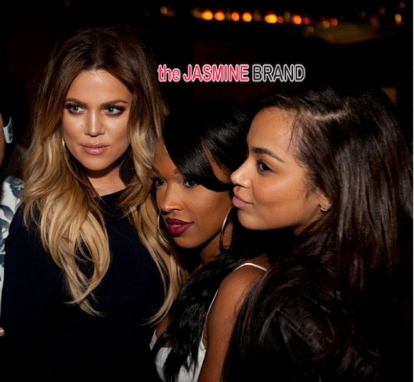 khloe kardashian-lauren london-diddy-throws swervin 16th-birthday party-son christian combs-the jasmine brand