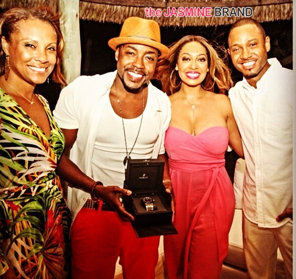 lala anthony-terrence j-will packer-40th birthday party-the jasmine brand