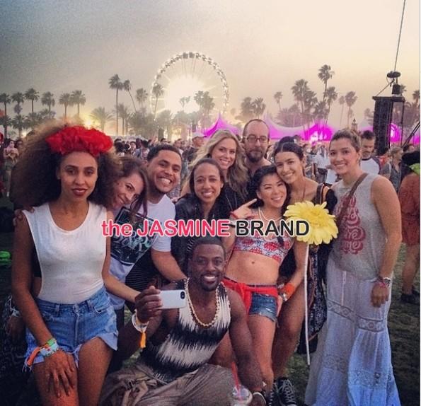 lance gross-girlfriend rebecca-celebrities at coachella 2014-the jasmine brand