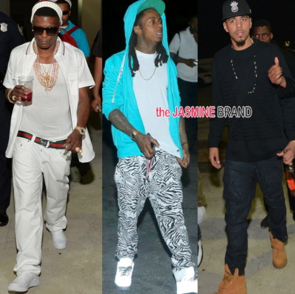 lil boosie-lil wayne-jcole-party in atlanta-velvet room compound 2014-the jasmine brand